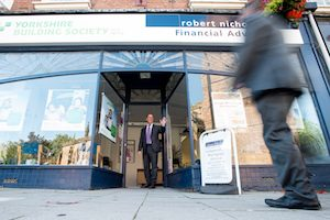 Welcoming a client to Robert Nicholas Financial Advisers